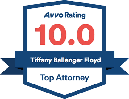 Tiffany is rated 10/10 on Avvo.